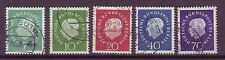 Echte gestempelte Briefmarken aus Deutschland (ab 1945) mit Politiker-Motiv