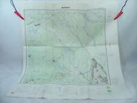 MONGO Ati TCHAD 1989 1:200.000 Ancienne carte d'Afrique A.E.F & Cameroun IGN