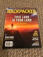 Backpacker Magazine January 2018 - Epic Trips on Any Budget Kenai Fjords, Aladka
