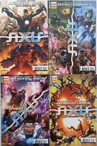 AVENGERS - X-MEN - AXIS - PANINI - 2015 - 4 fascicules - TBE