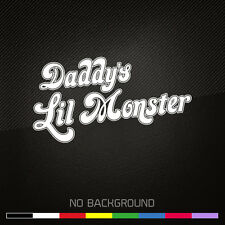 SUICIDE SQUAD Decal Sticker | Harley Quinn Daddy's Little Monster | Batman