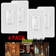4Pack Auto On/Off Infrared Pir Occupancy Vacancy Motion Sensor Light Lamp Switch