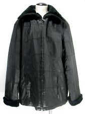 Braetan - Women's Jacket Coat - Fur Collar Cuff - Zip - Size 2X - 3X (measured)