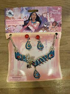WDW Disney Princess Pocahontas Jewelry Set Brand New