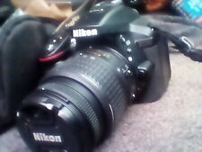 Nikon D5300 Digital Camera with 18-55mm DX VR Lens with 2 batteries and charger