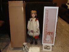 Zawieruszynski Kalina Doll  w/ COA, box & original shipper . NEVER OPENED 30/100