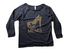 Krewe Of Muses Shoe Women's Mardi Gras Shirt M EUC