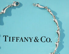 Tiffany & Co. Sterling Silver Elsa Peretti Teardrop Necklace