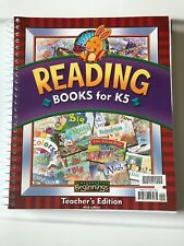 Bob Jones Beginnings K5 Phonics Reading Books Teacher Edition Home School Text