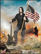 Disturbed Dan Donegan 2008 Schecter Omen 6 USA Guitar 8 x 11 pin-up photo print