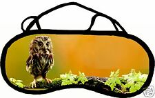 Mask sleep cache eyes anti light tiredness owl personnalisableREF 42