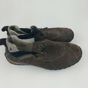 Timberland Smartwool Power Lounger Loafers Brown Leather Size Men's 10.5M