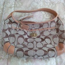 Beautiful COACH Designer Handbag with Authentic Bag Tag Identification #
