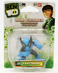 Ben 10 - Mini Figures / Mini Figuren - Nr. 21 Fasttrack - Figur ca. 4cm
