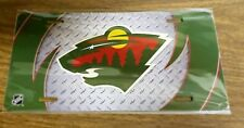 Minnesota Wild - NHL Hockey Metal Glossy Commemorative License Plate