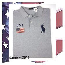 New listing $125 $125 Ralph Lauren Polo Usa American Flag Gray Polo Shirt Top Size 4Xb
