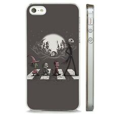 Nightmare Before Christmas Abbey CLEAR PHONE CASE COVER fits iPHONE 5 6 7 8 X