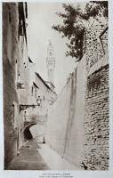 Lochelongue Gravure Eau Forte Etching Pavillon Vieille Rue À Sienne