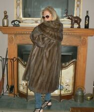 Charming Vintage Ranch Mink Fur Stroller Coat