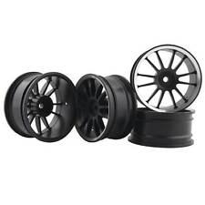 RC Aluminum Wheel 4pc D:52mm W:26mm Fit HSP HPI 1:10 On-Road Drift Car Rim 123HS