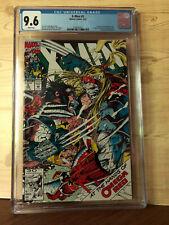 X-Men #5 (Feb 1992, Marvel) CGC 9.6 1st Appearance of Maverick, Omega Red app