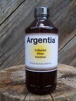Nature's Extra Argentia Colloidal Silver 50 ppm Solution, 8 oz.