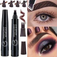 Microblading Tattoo Eyebrow Pen Waterproof Long Lasting Liquid EyeBrow Pencil#
