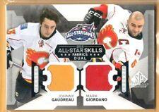 2015-16 SP Game Used AS Skills Dual Fabrics #AS26 Johnny Gaudreau/Mark Giordano