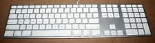 Genuine Apple A1243 USB Wired Slim English QWERTY Aluminum Keyboard