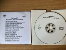 """""""The Best Of WINNIE THE POOH & Friends""""-Rare UK EMI Promo Only CDr Acetate-NEW"""