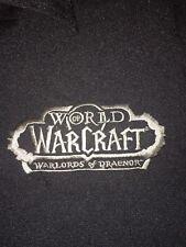 Blizzard Employee Bowling Shirt WARLORDS OF DRAENOR Warcraft BlizzCon 2019 Sz: M