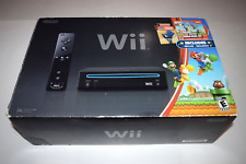 Wii New Super Mario Bros Bundle Nintendo Console Video Game System Complete Box