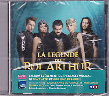 CD LA LEGENDE DU ROI ARTHUR 14T FLORENT MOTHE/ZAHO NEUF SCELLE