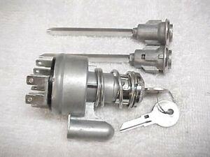 New Door Locks & Ignition Switch & Keys Willys Jeep Wagoneer J Commando 63 - 72