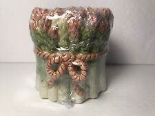 Fitz & Floyd Classics Potager Asparagus Poured Candle Vegetable Shaped