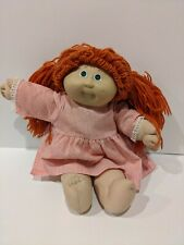 Vintage 1982 Coleco Cabbage Patch Doll Red Hair With Pigtails
