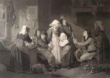 La demande en mariage Bretagne Breton Hugues Merle c 1865 Alfred Annedouche