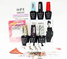 OPI Nail Gelcolor BREAKFAST at TIFFANY'S Audrey Hepburn Gel Color Kit #1
