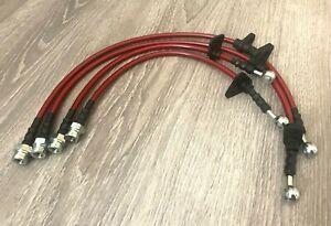 CZRRACING STAINLESS STEEL BRAKE LINE HONDA S2000 S2K AP1