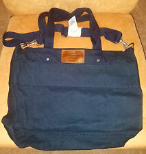 ABERCROMBIE & FITCH - CLASSIC NAVY TOTE - NWT's