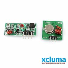 XCLUMA 433 Mhz RF TRANSMITTER  RECEIVER MODULE LINK KIT for ARDUINO OTHER BE0034