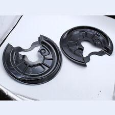1 Pair Rear Brake Disc Splash Gguard Dust Covers For A3 Golf MK5