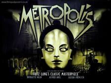 METROPOLIS- Canvas print Vintage movie poster  - A2 Fritz Lang #2