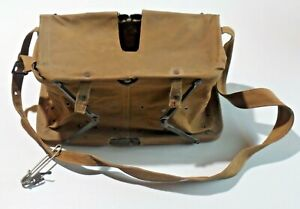 Vintage Fly Fishing Canvas Basket Trout Collapsible Bait or Live Fish Basket