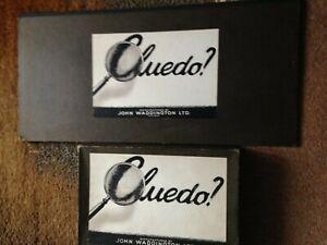 Vintage Waddintons Cluedo Board Game