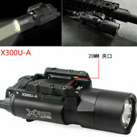 Ultra X300U 500LM LED Flashlight 20mm Picatinny Rail Torch For rifle Pistol Gun