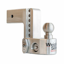 "Weigh Safe WS6-3 Adjustable 21,000 lbs. Hitch Ball Mount w/ 3"" Shaft & 6"" Drop"