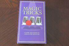 Magic Tricks by Nat Lambert Magic - Book and Magician's Props to Amaze & Astound