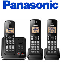 SALE ! Panasonic KX-TG633SK DECT 6.0 PLUS Cordless Phone Answering / KX-TGC363B