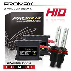 Promax Xenon Light Slim HID Conversion Kit H4 HB2 9003 3000k 5000k Bulbs 8000k
